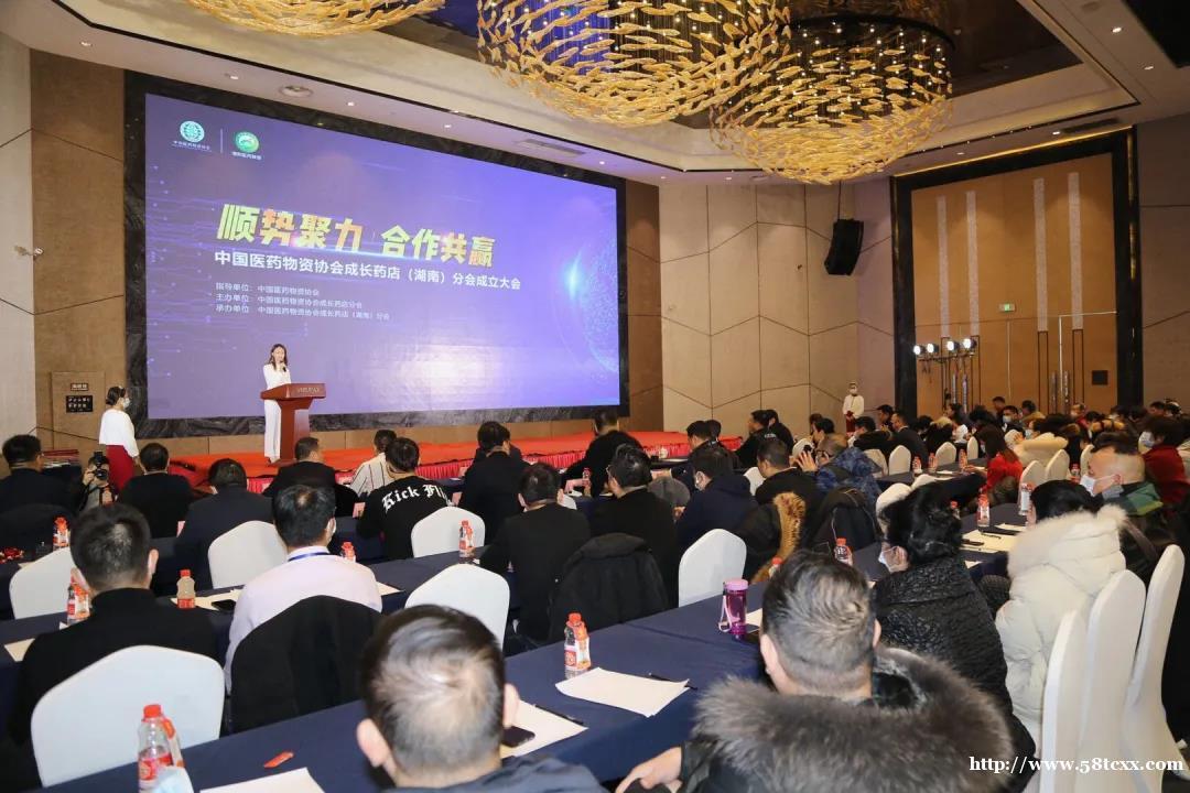 顺势聚力 合作共赢 中国医药物资协会成长药店(湖南)分会成立