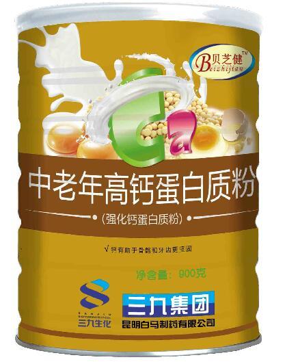 贝芝健 中老年高钙蛋白质粉 900克