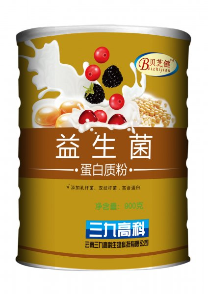 三九益生菌蛋白质粉(金装)